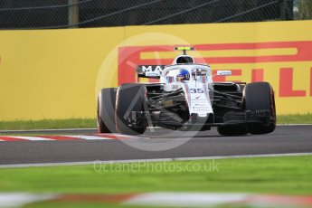 World © Octane Photographic Ltd. Formula 1 – Japanese GP - Qualifying. Williams Martini Racing FW41 – Sergey Sirotkin. Suzuka Circuit, Japan. Saturday 6th October 2018.