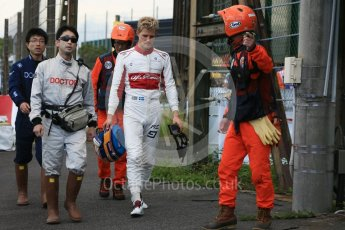 World © Octane Photographic Ltd. Formula 1 – Japanese GP - Qualifying. Alfa Romeo Sauber F1 Team C37 – Marcus Ericsson. Suzuka Circuit, Japan. Saturday 6th October 2018.