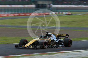 World © Octane Photographic Ltd. Formula 1 – Japanese GP - Qualifying. Renault Sport F1 Team RS18 – Nico Hulkenberg. Suzuka Circuit, Japan. Saturday 6th October 2018.
