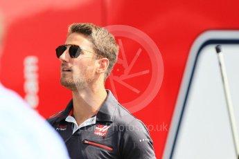 World © Octane Photographic Ltd. Formula 1 – Japanese GP - Paddock. Haas F1 Team VF-18 – Romain Grosjean. Suzuka Circuit, Japan. Sunday 7th October 2018.