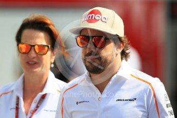 World © Octane Photographic Ltd. Formula 1 – Japanese GP - Paddock. McLaren MCL33 – Fernando Alonso. Suzuka Circuit, Japan. Sunday 7th October 2018.