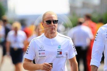 World © Octane Photographic Ltd. Formula 1 – Japanese GP - Paddock. Mercedes AMG Petronas Motorsport AMG F1 W09 EQ Power+ - Valtteri Bottas. Suzuka Circuit, Japan. Sunday 7th October 2018.