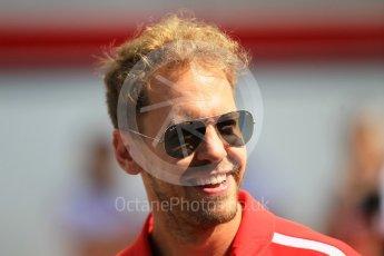 World © Octane Photographic Ltd. Formula 1 – Japanese GP - Paddock. Scuderia Ferrari SF71-H – Sebastian Vettel. Suzuka Circuit, Japan. Sunday 7th October 2018.
