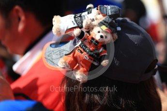 World © Octane Photographic Ltd. Formula 1 – Japanese GP - Paddock. Atmosphere - teddies. Suzuka Circuit, Japan. Sunday 7th October 2018.
