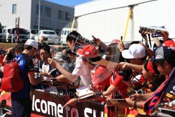 World © Octane Photographic Ltd. Formula 1 – Japanese GP - Paddock. Scuderia Toro Rosso STR13 – Pierre Gasly. Suzuka Circuit, Japan. Sunday 7th October 2018.