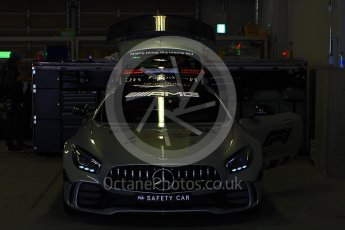 World © Octane Photographic Ltd. Formula 1 – Japanese GP - Pit Lane. Mercedes AMG Safety Car. Suzuka Circuit, Japan. Thursday 4th October 2018.