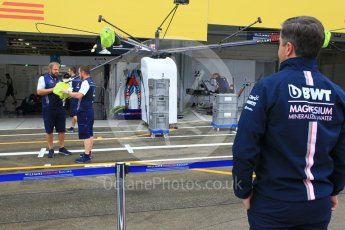 World © Octane Photographic Ltd. Formula 1 - Japanese GP - Paddock. Andy Stevenson – Sporting Director at Racing Point Force India. looking into Williams. Suzuka Circuit, Japan. Thursday 4th October 2018.