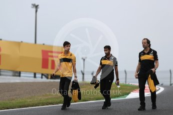 World © Octane Photographic Ltd. Formula 1 - Japanese GP - Track Walk. Jack Aitken – Reserve Driver Renault Sport Formula 1 Team. Suzuka Circuit, Japan. Thursday 4th October 2018.