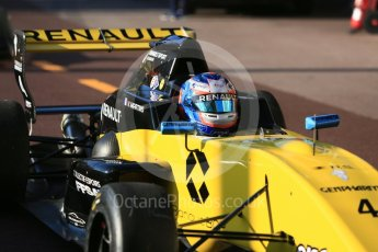 World © Octane Photographic Ltd. Formula Renault 2.0 – Monaco GP - Practice. Monte-Carlo. R-Ace GP - Victor Martins. Thursday 24th May 2018.