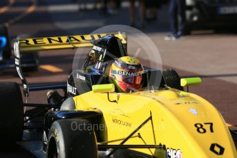 World © Octane Photographic Ltd. Formula Renault 2.0 – Monaco GP - Practice. Monte-Carlo. Fortec Motorsports - Arthur Rougier. Thursday 24th May 2018.