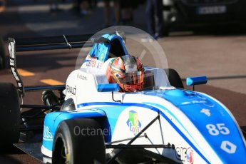 World © Octane Photographic Ltd. Formula Renault 2.0 – Monaco GP - Practice. Monte-Carlo. Fortec Motorsports - Raul Guzman. Thursday 24th May 2018.