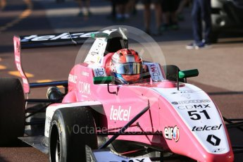 World © Octane Photographic Ltd. Formula Renault 2.0 – Monaco GP - Practice. Monte-Carlo. AVF by Adrian Valles - Axel Matus. Thursday 24th May 2018.