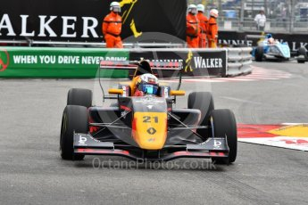 World © Octane Photographic Ltd. Formula Renault 2.0 – Monaco GP - Qualifying. Monte-Carlo. Tech 1 Racing - Neil Verhagen. Friday 25th May 2018.