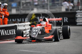 World © Octane Photographic Ltd. Formula Renault 2.0 – Monaco GP - Qualifying. Monte-Carlo. Tech 1 Racing - Thomas Neubauer. Friday 25th May 2018.