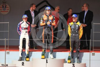 World © Octane Photographic Ltd. Formula Renault 2.0 – Monaco GP - Race 1. Monte-Carlo. MP Motorsport - Alex Peroni and R-Ace GP - Charles Milesi and Victor Martins. Saturday 26th May 2018.