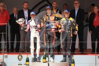 World © Octane Photographic Ltd. Formula Renault 2.0 – Monaco GP - Race 1. Monte-Carlo. MP Motorsport - Alex Peroni and R-Ace GP - Charles Milesi and Victor Martins. Saturday 26th May 2018.