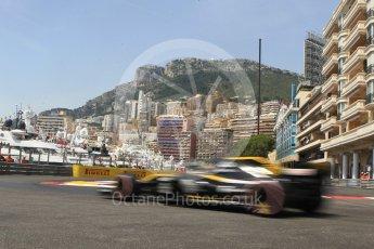 World © Octane Photographic Ltd. Formula 1 – Monaco GP - Practice 3. Renault Sport F1 Team RS18 – Nico Hulkenberg. Monte-Carlo. Saturday 26th May 2018.
