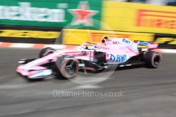 World © Octane Photographic Ltd. Formula 1 – Monaco GP - Practice 3. Sahara Force India VJM11 - Esteban Ocon. Monte-Carlo. Saturday 26th May 2018.