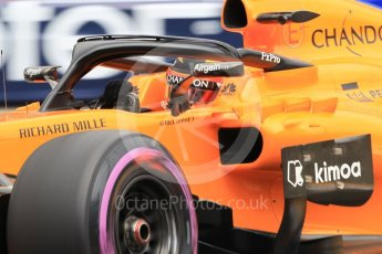 World © Octane Photographic Ltd. Formula 1 – Monaco GP - Practice 1. McLaren MCL33 – Stoffel Vandoorne. Monte-Carlo. Thursday 24th May 2018.
