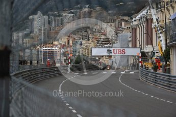World © Octane Photographic Ltd. Formula 1 – Monaco GP - Practice 1. Aston Martin Red Bull Racing TAG Heuer RB14 – Max Verstappen. Monte-Carlo. Thursday 24th May 2018.