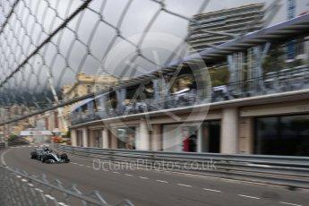 World © Octane Photographic Ltd. Formula 1 – Monaco GP - Practice 1. Mercedes AMG Petronas Motorsport AMG F1 W09 EQ Power+ - Lewis Hamilton. Monte-Carlo. Thursday 24th May 2018.