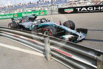 World © Octane Photographic Ltd. Formula 1 – Monaco GP - Practice 2. Mercedes AMG Petronas Motorsport AMG F1 W09 EQ Power+ - Lewis Hamilton. Monte-Carlo. Thursday 24th May 2018.