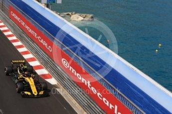 World © Octane Photographic Ltd. Formula 1 – Monaco GP - Practice 2. Renault Sport F1 Team RS18 – Carlos Sainz. Monte-Carlo. Thursday 24th May 2018.