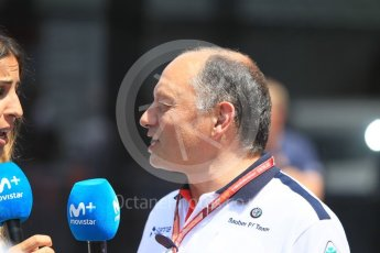 World © Octane Photographic Ltd. Formula 1 - Monaco GP - Qualifying. Frederic Vasseur – Team Principal and CEO of Sauber Motorsport AG. Monte-Carlo. Saturday 26th May 2018.
