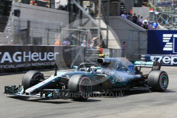 World © Octane Photographic Ltd. Formula 1 – Monaco GP - Qualifying. Mercedes AMG Petronas Motorsport AMG F1 W09 EQ Power+ - Lewis Hamilton. Monte-Carlo. Saturday 26th May 2018.