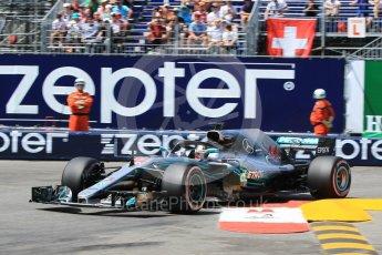 World © Octane Photographic Ltd. Formula 1 – Monaco GP - Qualifying. Mercedes AMG Petronas Motorsport AMG F1 W09 EQ Power+ - Lewis Hamilton. Monte-Carlo. Saturday 26th May 2018.