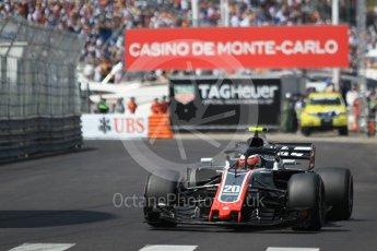 World © Octane Photographic Ltd. Formula 1 – Monaco GP - Qualifying. Haas F1 Team VF-18 – Kevin Magnussen. Monte-Carlo. Saturday 26th May 2018.