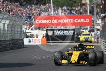 World © Octane Photographic Ltd. Formula 1 – Monaco GP - Qualifying. Renault Sport F1 Team RS18 – Nico Hulkenberg. Monte-Carlo. Saturday 26th May 2018.
