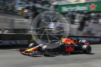 World © Octane Photographic Ltd. Formula 1 – Monaco GP - Qualifying. Aston Martin Red Bull Racing TAG Heuer RB14 – Daniel Ricciardo. Monte-Carlo. Saturday 26th May 2018.