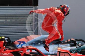 World © Octane Photographic Ltd. Formula 1 – Monaco GP - Qualifying. Scuderia Ferrari SF71-H – Kimi Raikkonen. Monte-Carlo. Saturday 26th May 2018.