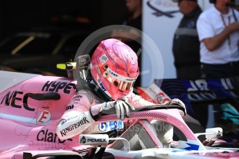 World © Octane Photographic Ltd. Formula 1 – Monaco GP - Qualifying. Sahara Force India VJM11 - Esteban Ocon. Monte-Carlo. Saturday 26th May 2018.
