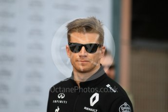 World © Octane Photographic Ltd. Formula 1 – Monaco GP - Paddock. Renault Sport F1 Team RS18 – Nico Hulkenberg. Monte-Carlo. Sunday 27th May 2018.