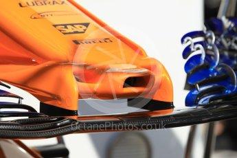 World © Octane Photographic Ltd. Formula 1 – Monaco GP - Setup. McLaren MCL33. Monte-Carlo. Wednesday 23rd May 2018.