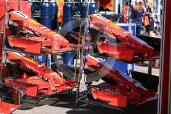 World © Octane Photographic Ltd. Formula 1 – Monaco GP - Setup. Scuderia Ferrari SF71-H. Monte-Carlo. Wednesday 23rd May 2018.