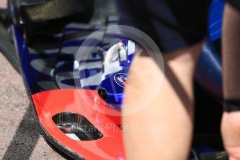 World © Octane Photographic Ltd. Formula 1 – Monaco GP - Setup. Scuderia Toro Rosso STR13. Monte-Carlo. Wednesday 23rd May 2018.