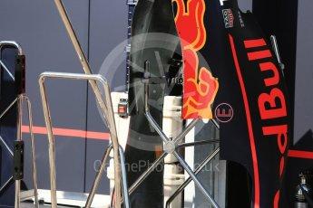 World © Octane Photographic Ltd. Formula 1 – Monaco GP - Setup. Aston Martin Red Bull Racing TAG Heuer RB14. Monte-Carlo. Wednesday 23rd May 2018.