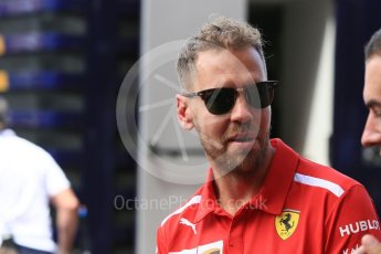World © Octane Photographic Ltd. Formula 1 – Monaco GP - Setup. Scuderia Ferrari SF71-H – Sebastian Vettel. Monte-Carlo. Wednesday 23rd May 2018.