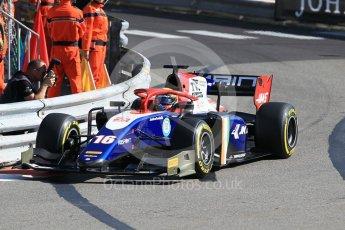 World © Octane Photographic Ltd. FIA Formula 2 (F2) – Monaco GP - Practice. Trident - Arjun Maini. Monte Carlo. Thursday 24th May 2018.