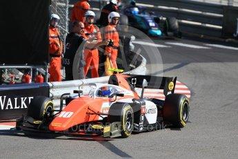 World © Octane Photographic Ltd. FIA Formula 2 (F2) – Monaco GP - Practice. MP Motorsport - Ralph Boschung. Monte Carlo. Thursday 24th May 2018.