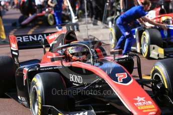 World © Octane Photographic Ltd. FIA Formula 2 (F2) – Monaco GP - Practice. ART Grand Prix - Jack Aitken. Monte Carlo. Thursday 24th May 2018.