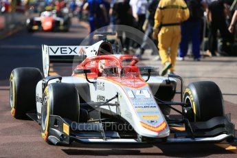 World © Octane Photographic Ltd. FIA Formula 2 (F2) – Monaco GP - Practice. Campos Vexatec Racing - Luca Ghiotto. Monte Carlo. Thursday 24th May 2018.
