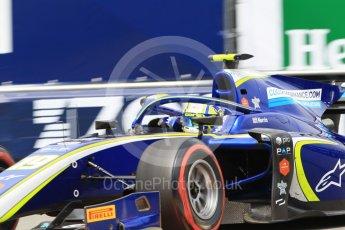 World © Octane Photographic Ltd. FIA Formula 2 (F2) – Monaco GP - Qualifying. Carlin - Lando Norris. Monte Carlo. Thursday 24th May 2018.