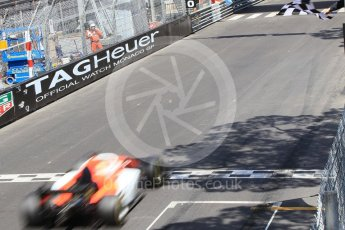 World © Octane Photographic Ltd. FIA Formula 2 (F2) – Monaco GP - Race 1. MP Motorsport - Roberto Merhi. Monte Carlo. Friday 25th May 2018.