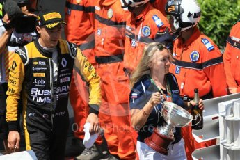 World © Octane Photographic Ltd. FIA Formula 2 (F2) – Monaco GP - Race 1 Parc Ferme. Russian Time - Artem Markelov. Monte Carlo. Friday 25th May 2018