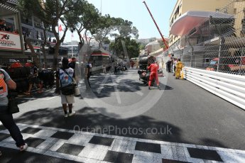 World © Octane Photographic Ltd. FIA Formula 2 (F2) – Monaco GP - Race 1. The Grid. Monte Carlo. Friday 25th May 2018.