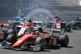 World © Octane Photographic Ltd. FIA Formula 2 (F2) – Monaco GP - Race 1. Campos Vexatec Racing - Roy Nissany. Monte Carlo. Friday 25th May 2018.